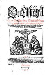 Bücher: Nemlich die herrliche Auslegung vber das Erste Buch Mosi ... Vom anfang des XXV. Capitels bis zum ende, Band 11