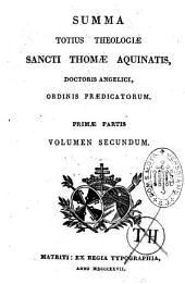 Summa totius theologiae sancti Thomae Aquinatis