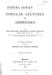 Popular Lectures and Addresses: Volume 1