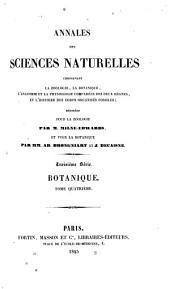 Annales des sciences naturelles: Botanique