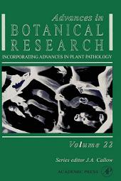 Advances in Botanical Research: Volume 22