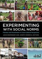Experimenting with Social Norms PDF