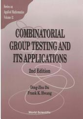 Combinatorial Group Testing And Its Applications (2nd Edition)