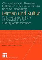 Lernen und Kultur PDF