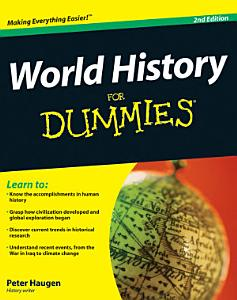 World History For Dummies Book