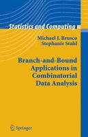 Branch and Bound Applications in Combinatorial Data Analysis PDF