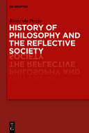 History of Philosophy and the Reflective Society