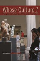 Whose Culture  PDF