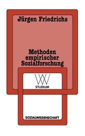 Methoden empirischer Sozialforschung: Ausgabe 14