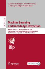 Machine Learning and Knowledge Extraction