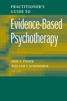 Practitioner s Guide to Evidence Based Psychotherapy PDF