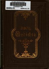 Gedichte von J. Ch. Freiherrn von Zedlitz