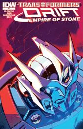 Transformers: Drift: Empire of Stone #2