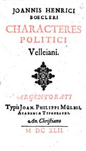 Characteres politici Velleiani