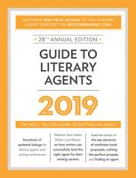 Guide to Literary Agents 2019 PDF