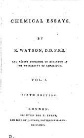 Chemical essays: Volume 1