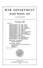 Annual Report of the Secretary of War: Part 2