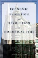 Economic Evolution and Revolution in Historical Time PDF