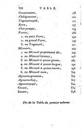 Essais sur l'histoire naturelle des quadrupedes de la province du Paraguay: écrits depuis 1783 jusqu'en 1796, avec une appendice sur quelques reptiles, et formant suite nécessaire aux oeuvres de Buffon, Volume1