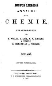 Justus Liebigs Annalen der Chemie: Bände 195-196
