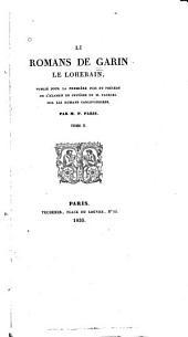 Li romans de Garin, le Loherain