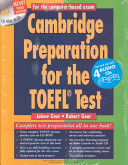 Cambridge Preparation for the TOEFL   Test Book CD ROM audio CD PDF