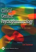 Clinical Geriatric Psychopharmacology PDF