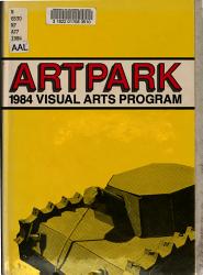 Artpark 1984 PDF
