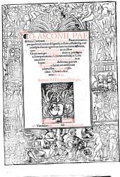 In orationes Ciceronis enarrationes