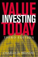 Value Investing Today PDF