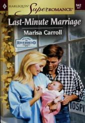 Last-Minute Marriage