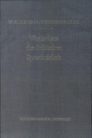 Wortschatz der keltischen Spracheinheit PDF
