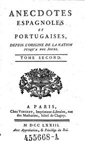 Anecdotes Espagnoles et Portugaises