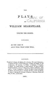 The plays of William Shakspeare: with the corrections and illustrations of various commentators, to which are added notes, Volume 8