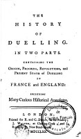 The History of Duelling PDF