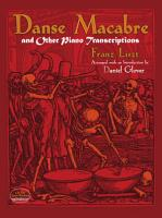 Danse Macabre and Other Piano Transcriptions PDF