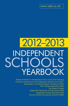 Independent Schools Yearbook 2012 2013 PDF
