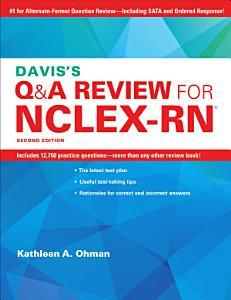 Davis's Q&A Review For NCLEX-RN Book