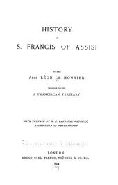 History of S. Francis of Assisi