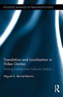 Translation and Localisation in Video Games PDF