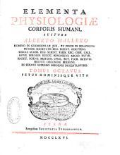 Elementa physiologiae corporis humani: Fetus hominisque vita