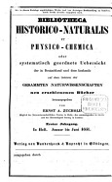 Bibliotheca historico naturalis et physico chemica PDF