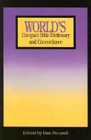 World s Compact Bible Dictionary and Concordance  Slim