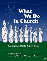 What We Do in Church PDF