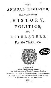 Annual Register: Volume 42