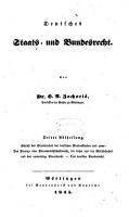 Deutsches Staats  und Bundesrecht PDF
