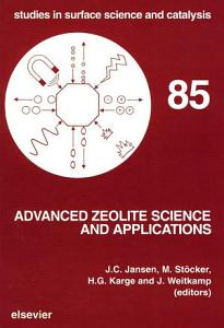 Advanced Zeolite Science and Applications PDF