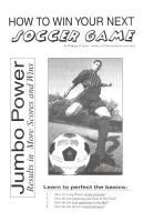 How to Win Your Next Soccer Game and Coaching Very Young Soccer Players PDF