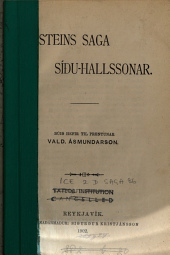Þorsteins saga Síðu-Hallssonar