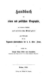 Handbuch der reinen u. politischen Geographie mit bes. Rücksicht auf militärische Wichtigkeit